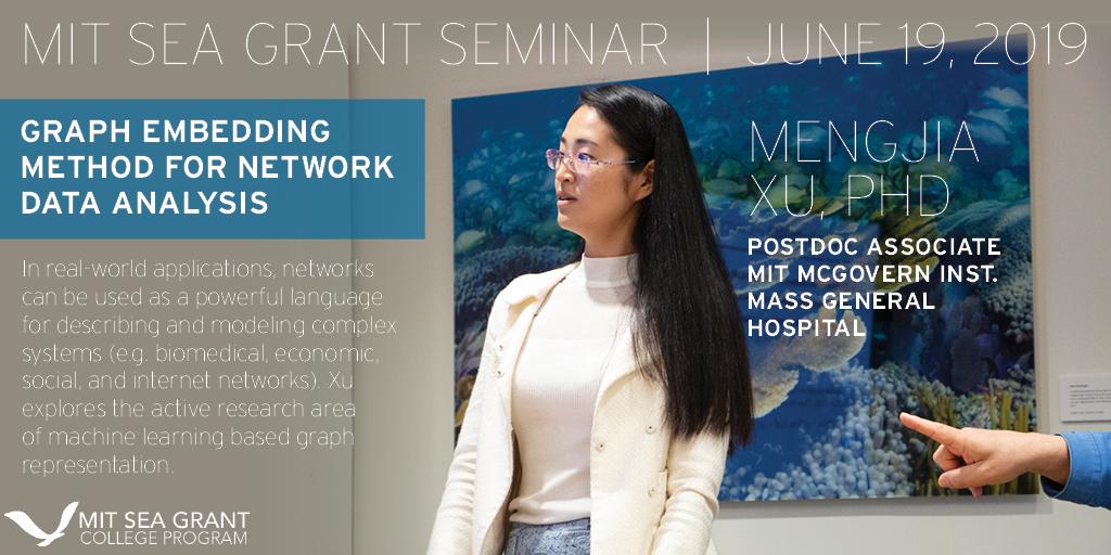 Mengjia Xu presenting during her seminar