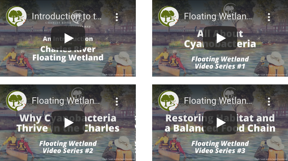 Videos by the Charles River Conservancy