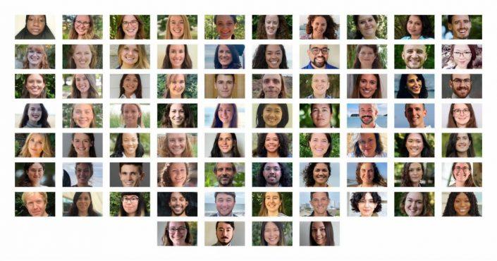 Collage of headshots of 2022 Knauss Fellows