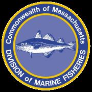 Logo for the Massachusetts Division of Marine Fisheries